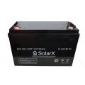 SolarX SXA 100-12 (Акумуляторна батарея SolarX SXA 100-12 AGM)