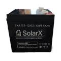 SolarX SXA 5.5-12 (Акумуляторна батарея SolarX SXA 5.5-12 AGM)