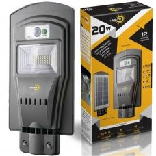 Уличный светильник на солнечной батарее LED Vargo UNILITE 20W 6500K (VS-109545), Vargo UNILITE 20W 6500K, Уличный светильник на солнечной батарее LED Vargo UNILITE 20W 6500K (VS-109545) фото, продажа в Украине