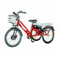 VEGA Big Happ (Електровелосипед трицикл VEGA Big Happy 2АКБ, 500W/48V/10Ah/LCD червоний)
