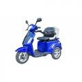 VEGA HELP 500 (Трехколесный электроскутер VEGA HELP 500 (500 Вт, 60В/20Ач, синий, красный)+ корзина и доставка в подарок)