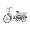 VEGA Happy VIP (белый) (Електровелосипед трицикл VEGA Happy VIP (LI-ion, 350Вт, 36В) + Замок)