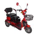 ZEUS AGAMI xk 650W/60V/20AH (Електровелосипед трицикл ZEUS AGAMI xk 650W/60V 20AH (DZM) (червоний, чорний))
