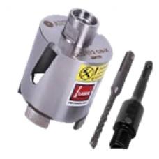 Алмазная корона KROHN Ø 68 для подрозетников в комплекте с адаптером,  KROHN Ø 68, Алмазная корона KROHN Ø 68 для подрозетников в комплекте с адаптером фото, продажа в Украине