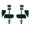 Стальные фрезерованные ступенчатые зажимы PROXXON 24257 купить, фото