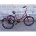 """RYMAR 24"""" (Велосипед триколісний міський з кошиком RYMAR 24"""")"""