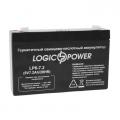 Гелевый аккумулятор LOGICPOWER LP6-7.2AH, LOGICPOWER LP6-7.2AH, Гелевый аккумулятор LOGICPOWER LP6-7.2AH фото, продажа в Украине