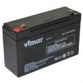VIMAR B9-6 6B 12АЧ (Гелевий акумулятор VIMAR B9-6 6B 12Ач)