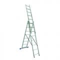 Универсальная 3-х составная лестница КЕНТАВР 3х7 купить, фото
