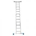 Шарнирная лестница-трансформер ALUMET TL4044, ALUMET TL4044, Шарнирная лестница-трансформер ALUMET TL4044 фото, продажа в Украине