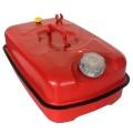 Металлическая горизонтальная канистра FORTE для ГСМ на 5 литров купить, фото