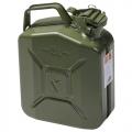 Металлическая канистра FORTE для ГСМ на 5 литров (Металева каністра FORTE для ПММ на 5 літрів)
