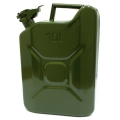 Металлическая канистра FORTE для ГСМ на 10 литров (Металлическая канистра FORTE для ГСМ на 10 литров)