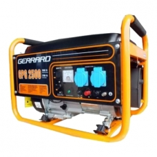 Бензиновый генератор GERRARD GPG2500 купить, фото